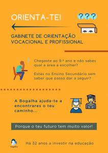 Gabinete de orientação vocacional e profissional_Bogalha
